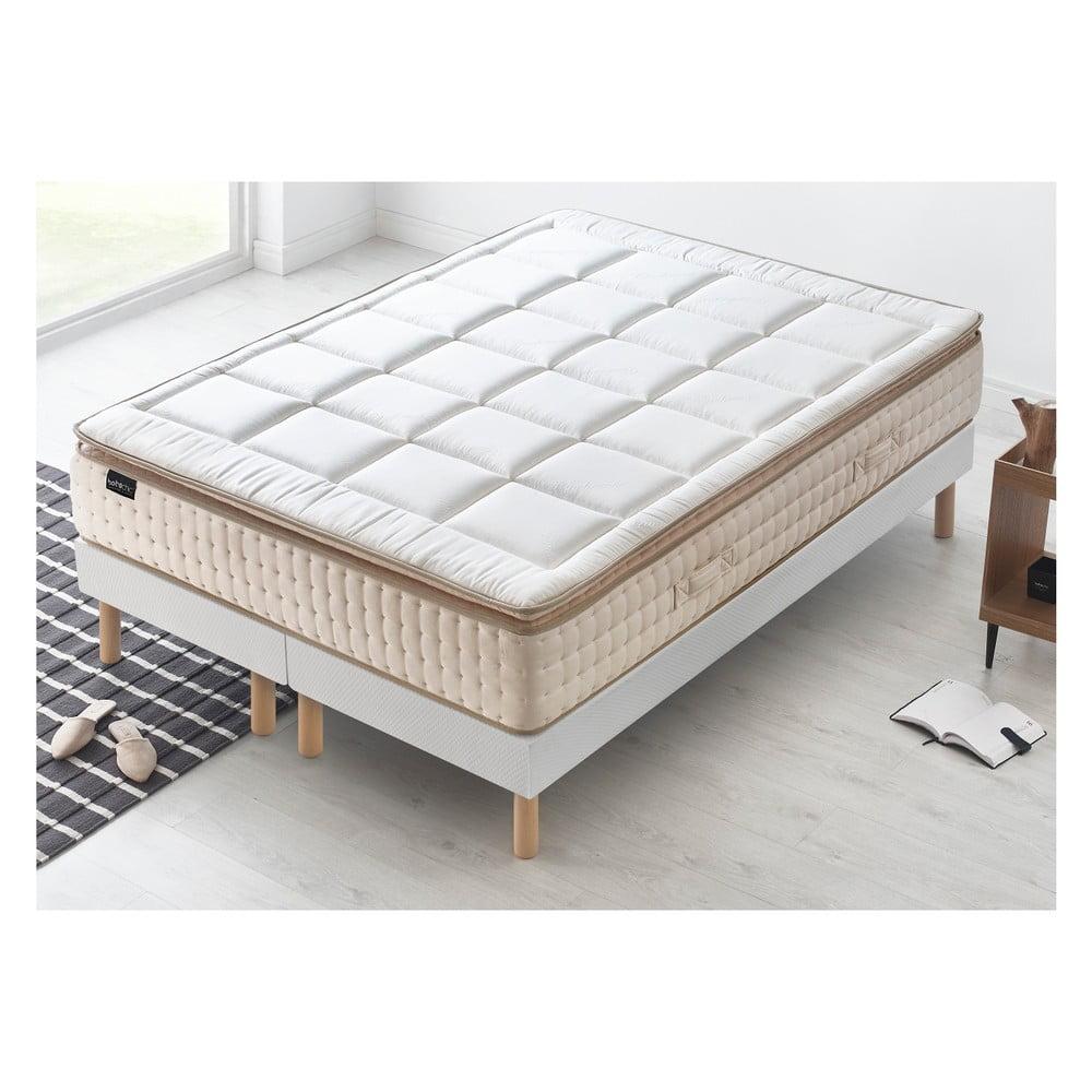 Dvojlôžková posteľ s matracom Bobochic Paris Cashmere, 100 x 200 cm + 100 + 200 cm