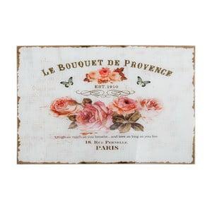 Sklenený obraz Le Bouquet, 60x40 cm