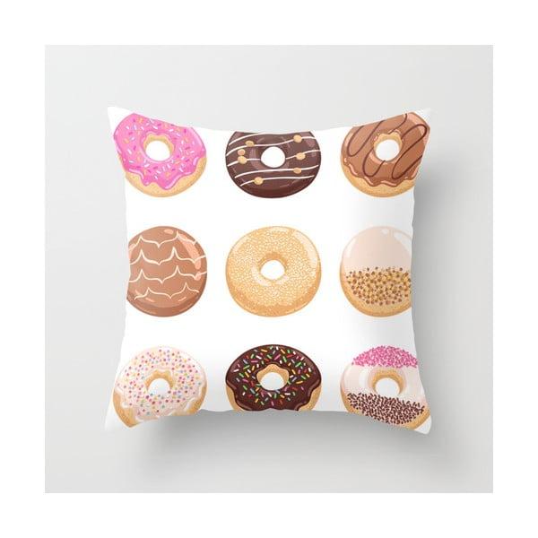 Obliečka na vankúš Donuts I, 45x45 cm