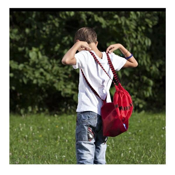 Batoh/vrece do školy, červený
