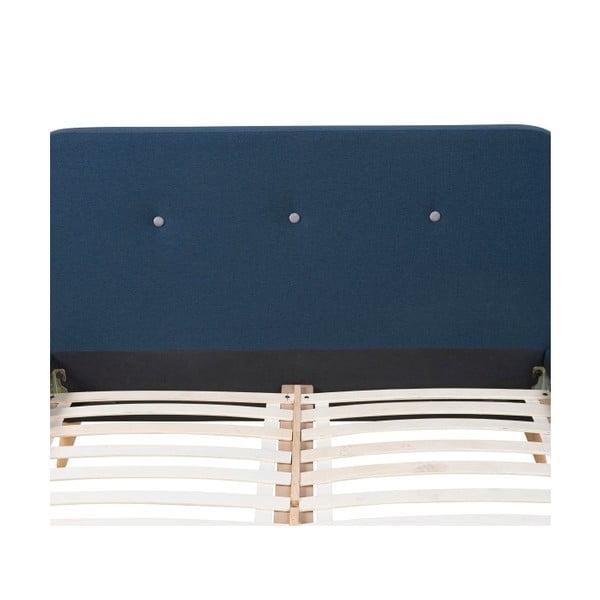 Posteľ Actona Agnes, 140 x 200 cm, modrá
