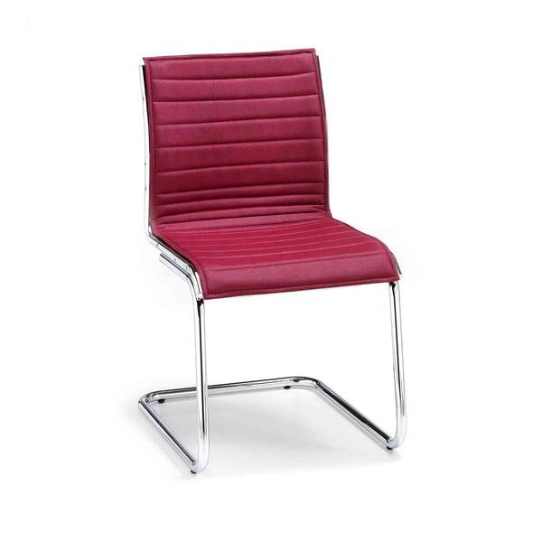 Vínová kancelárska stolička bez opierok na ruky Zago Chrono