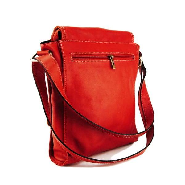 Kožená unisex taška Norado Rosso