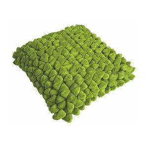 Zelený vankúš ZicZac Pebble, 45x45cm