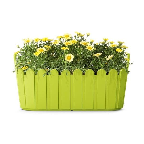 Kvetináč Jardiniére Green, 39x15x19 cm