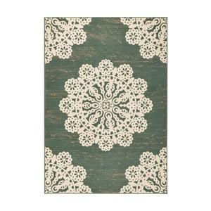 Zelený koberec Hanse Home Gloria Lace, 80 x 150 cm