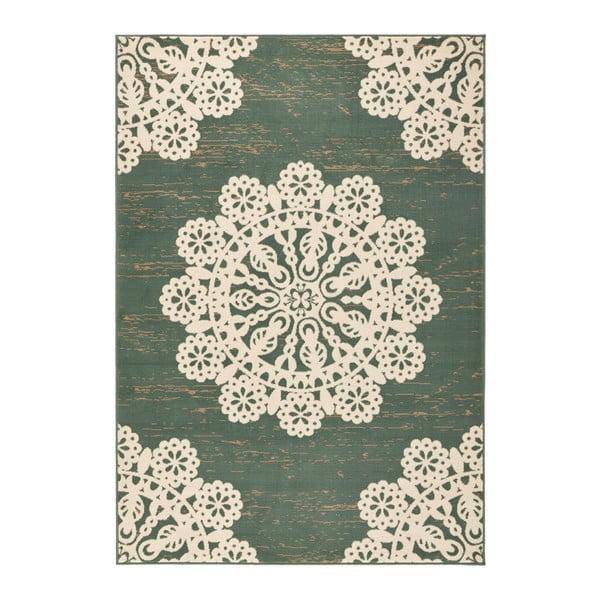 Zelený koberec Hanse Home Gloria Lace, 160 x 230 cm