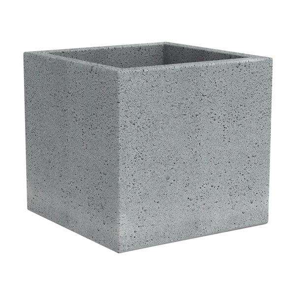 Obal na kvetináč Stone, 40 cm, šedý