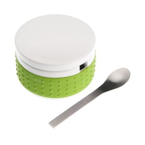 Set zelenej dózy na cukor s lyžičkou Versa Spoon