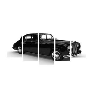 Viacdielny obraz Black&White Car