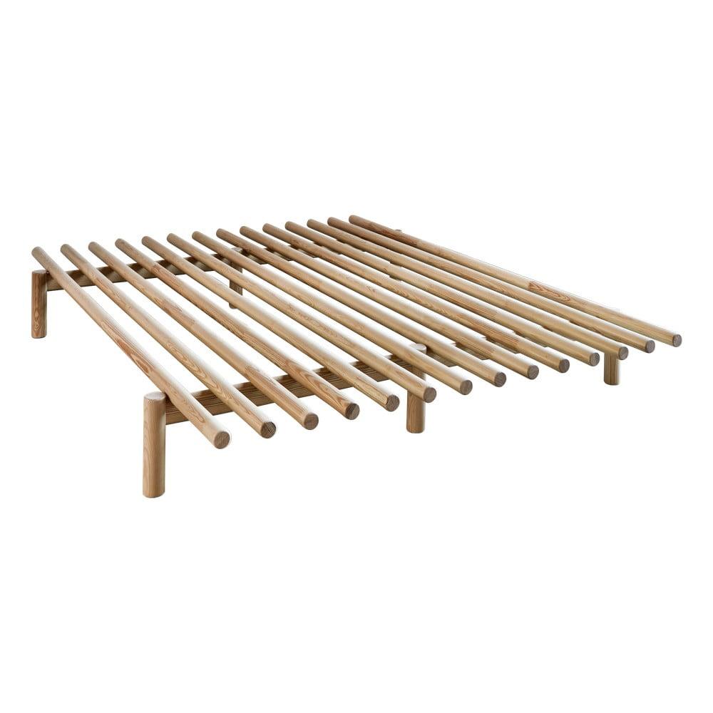 Rám postele z borovicového dreva Karup Design Pace Natural, 160 × 200 cm