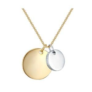 Dámsky náhrdelník zlatej farby Runaway Louisiana