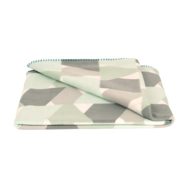 Fleecová deka Present Time Layers Mint