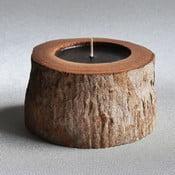 Palmová sviečka Legno Black Bee s vôňou vodného kvetu, 40 hodin horenia