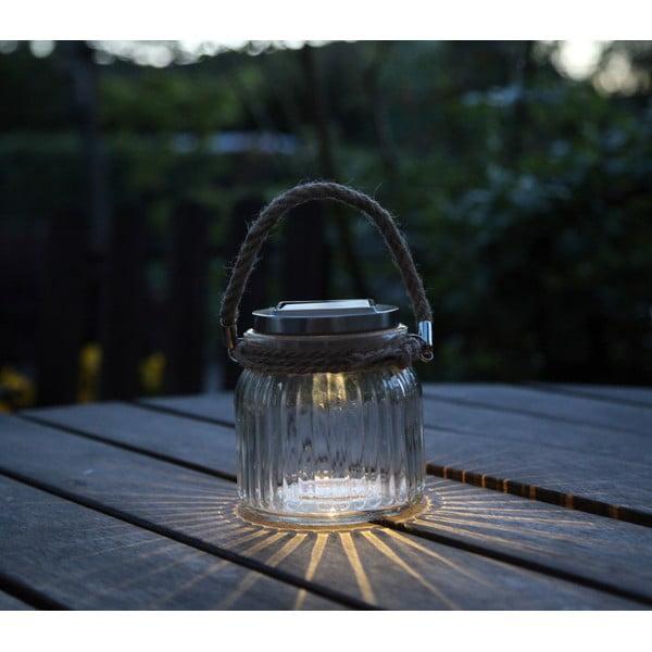 Lampáš Solar Energy Glass Jar