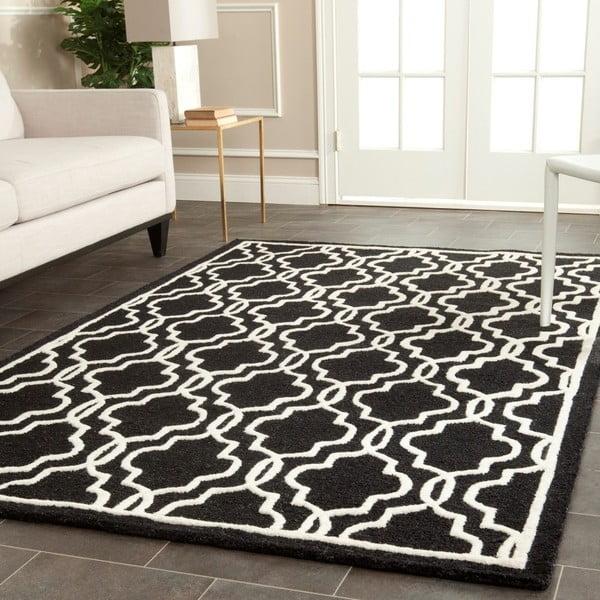 Vlnený koberec  Safavieh Elle Night, 182x274 cm