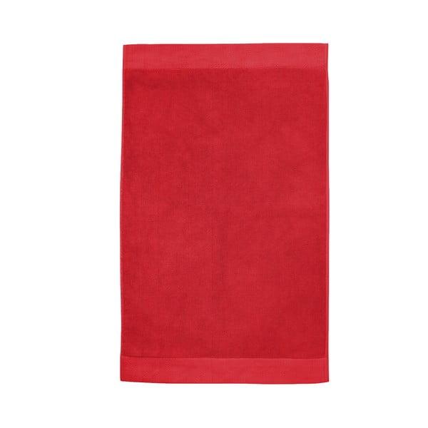 Červená kúpeľňová predložka Seahorse Pure, 50 x 90 cm