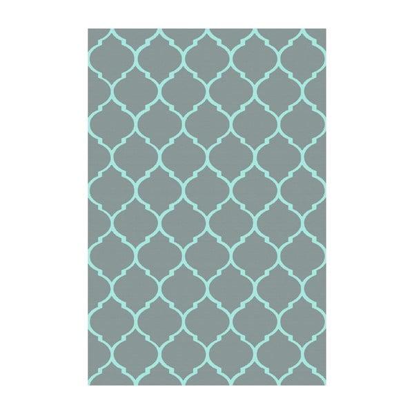 Vinylový koberec Reticular Petróleo, 100x150 cm