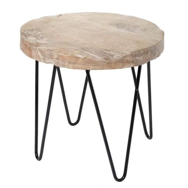 Odkladací stolík Wood Black
