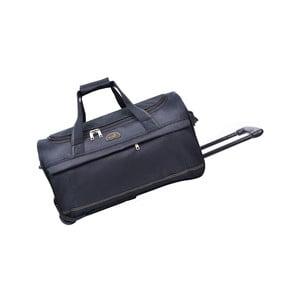 Cestovná taška na kolieskach Cadenas Black, 43 l