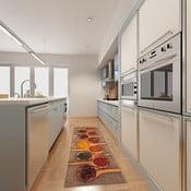 Vysokoodolný kuchynský koberec Webtappeti Spices, 60 x 220 cm