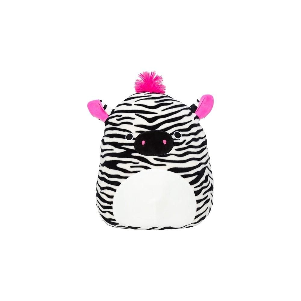 Plyšová hračka SQUISHMALLOWS Zebra Tracey, výška 19 cm