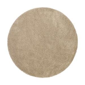 Béžový koberec MOMA Aqua, Ø80cm