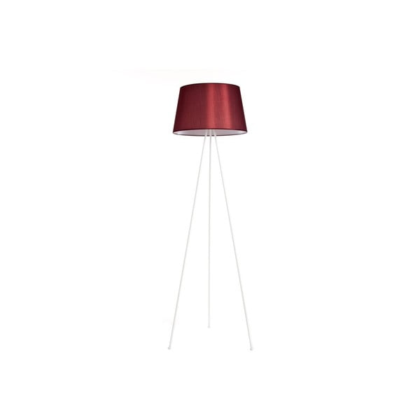 Tripod lampa Simple White/Red