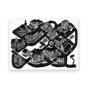 Puzzle z recyklovaných materiálov Pucle Smyčka, 500 dielikov