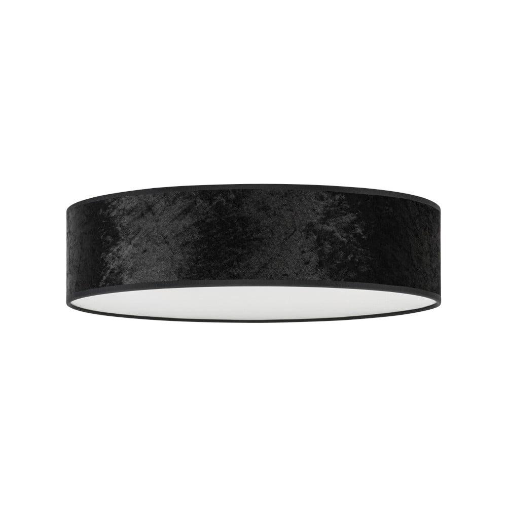 Čierne stropné svietidlo Bulb Attack Quince, ⌀ 40 cm