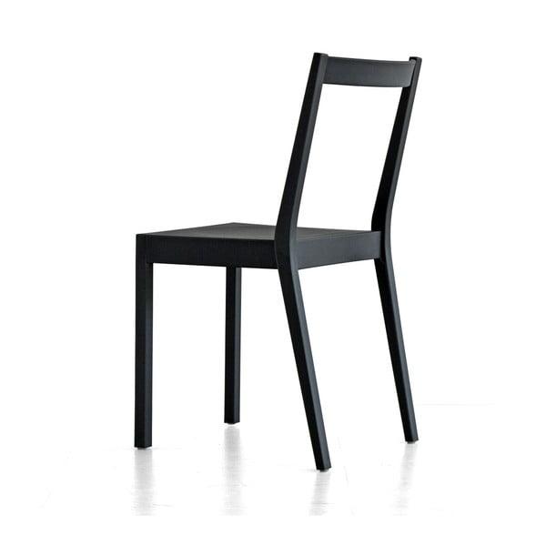 Jedálenská stolička Kent, sivá