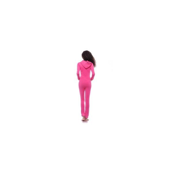 Užší domáci overal Summer Pink, veľ. M