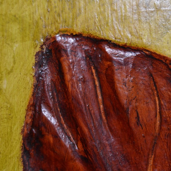 Drevený panel Leaf, 60x80 cm
