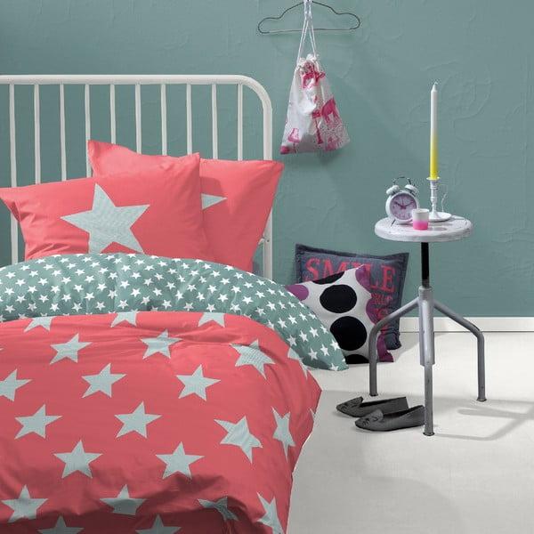 Ružové obliečky Orion, 140x200cm