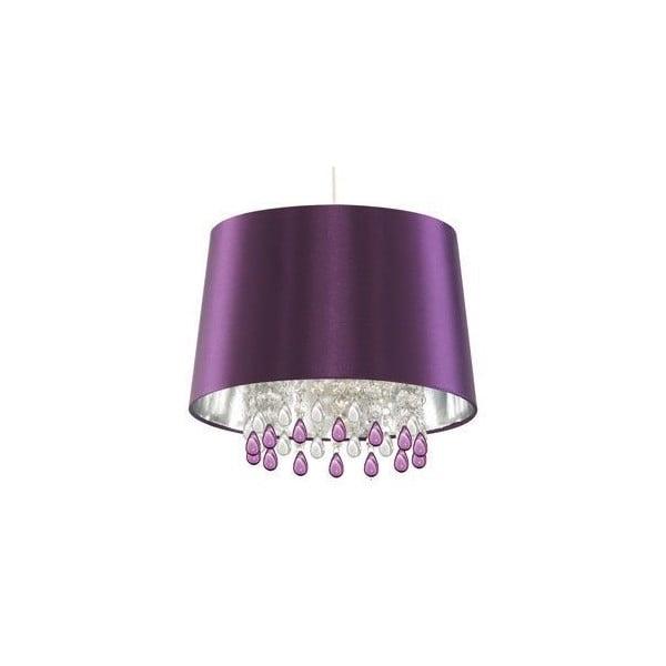 Stropné svetlo Purple Beads