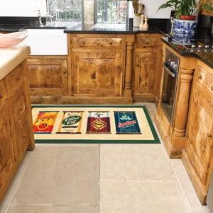 Vysokoodolný kuchynský koberec Webtappeti Olive Oil & Co., 60 x 115 cm