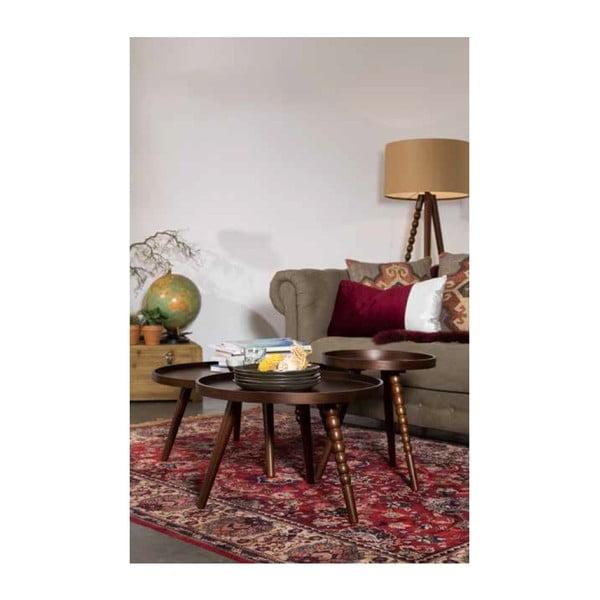 Drevený stolík Dutchbone Arabika, 78cm