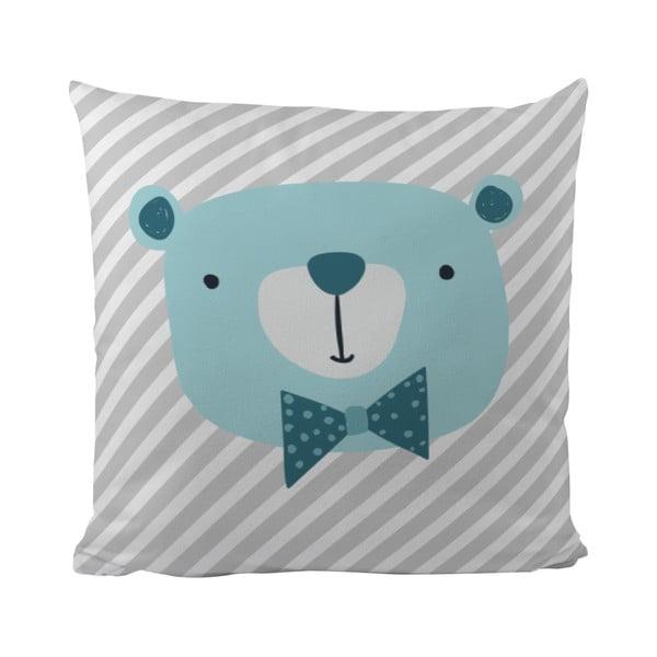 Vankúš Mr. Little Fox Bear Berry, 50x50cm