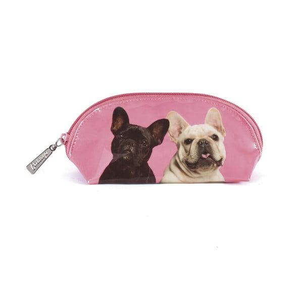 Oválna kozmetická taška Mr & Mrs