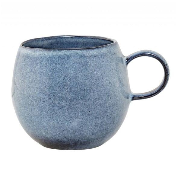 Modrý kameninový hrnček Bloomingville Sandrine