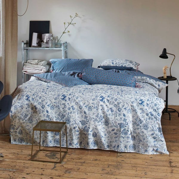 Obliečky Pip Studio Buttons Up, 240x220 cm, modré