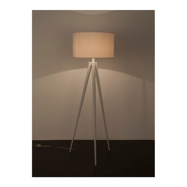Biela stojacia lampa Zuiver Tripod