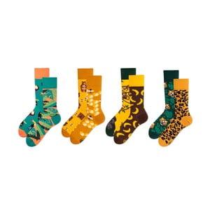 Sada 4 párov ponožiek v darčekovom balení Many Mornings Heat, veľ. 43–46