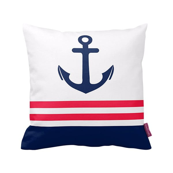 Vankúš White Sailor, 43x43 cm