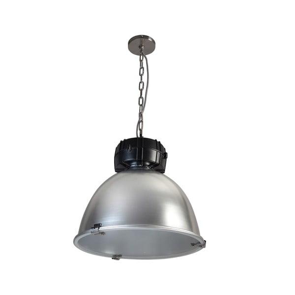 Strieborno-čierne stropné svietidlo ETH High Bay