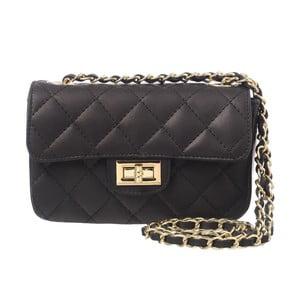 Kožená listová kabelka Coco Miss Black
