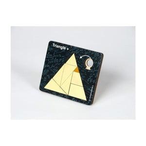 Drevená skladačka RecentToys Triangle Plus