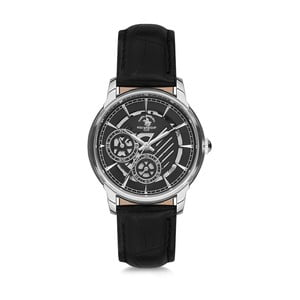 Dámske hodinky s koženým remienkom Santa Barbara Polo & Racquet Club Yvonne