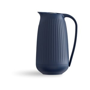 Tmavomodrý plastový džbán Kähler Design Hammershoi Thermos Jug, 1 l