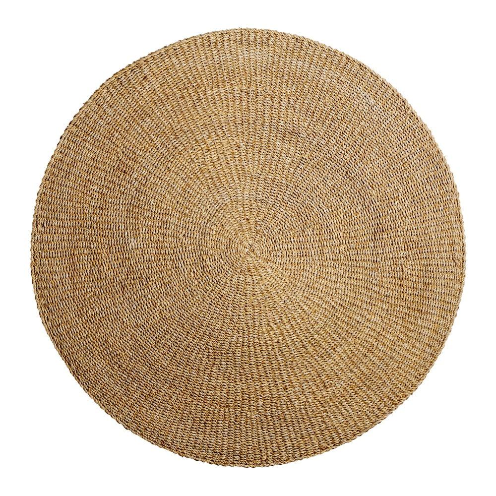 Koberec z morskej trávy Bloomingville Nature, ø 120 cm